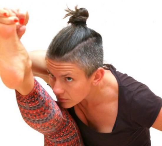 Ewa yoga voor Yantra